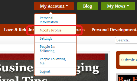 How to upload an avatar correctly at Dosplash - step 1