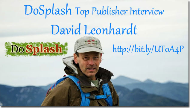 DoSplash Top Publisher Interview: David Leonhardt