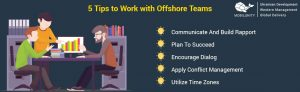 5 tips to work with offshore teams
