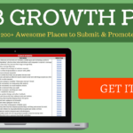 WEB GROWTH PACK: A Huge List of 200+ AWESOME Places to Submit & Promote Your Website