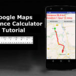 Google Maps Distance Calculator using Google Directions in Google Maps Android API