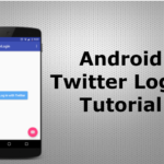 Twitter Login Android Tutorial using Fabric Twitter Login Kit