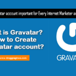 Is the Gravatar account important for every Internet Marketer?