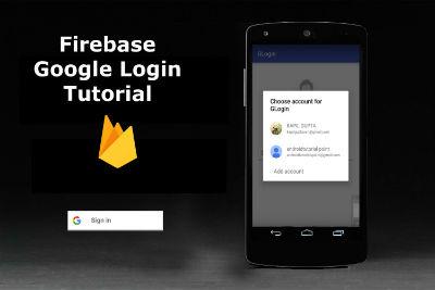 Android Firebase Authentication Tutorial Using Firebase Google Login