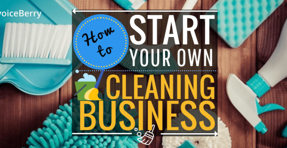Start your own cleaning business with this step-by-step guide