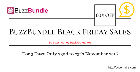 Social Media Marketing Tool: BuzzBundle Black Friday Sales 60% OFF – CyberNaira