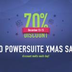 SEO PowerSuite Discount 2016 Xmas Sale – 70% OFF