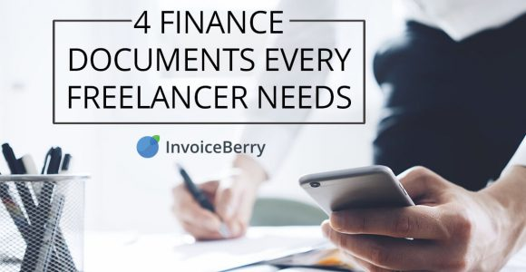 4 financial documents that are essential for freelancing activity