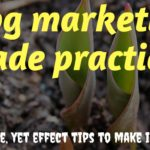 Blog marketing made practical: 3 Simple, yet effect tips to make it work!