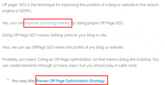 On Page SEO Technique 2017