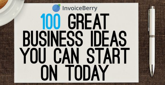 100 ideas for your own business