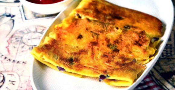 Pancake Omelet Envelope (POE)