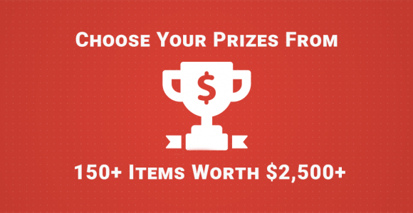 Huge Giveaway – choose your prizes from 150+ WordPress items worth $2,500+