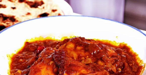 Kashmiri mirch chicken : Flavorsome and mildly spiced for a cold rainy day