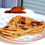 Teenkona parotta : The Bengali layered flatbread