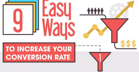Increase your website's conversion rate using these 9 tips!