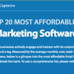 Capterra\'s Top 20 Most Affordable Email Marketing Software in 2017 [Infographic]