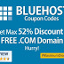 [BlueRush Sale] Bluehost Coupons 55% OFF+FREE Domain (April, 2017) | Unlimited Web Hosting Promotional Code