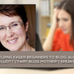 Helping eager beginners to blog: Alice Elliott (\