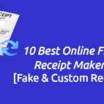 10 Online Free Receipt Maker Tools 2017 [Fake & Custom Receipts]