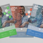 85+ Free (CV) Indesign Resume Templates in Ai, HTML & PSD Formats – Designs Rock