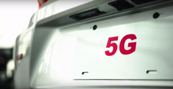 Verizon/Ericsson testing 5G by driving a car with all windows blacked out