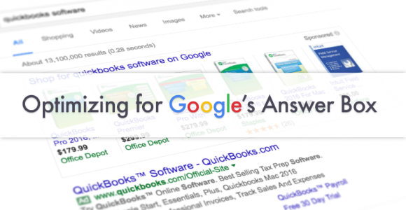 Optimize Your Site for Google Answer Box | SEJ