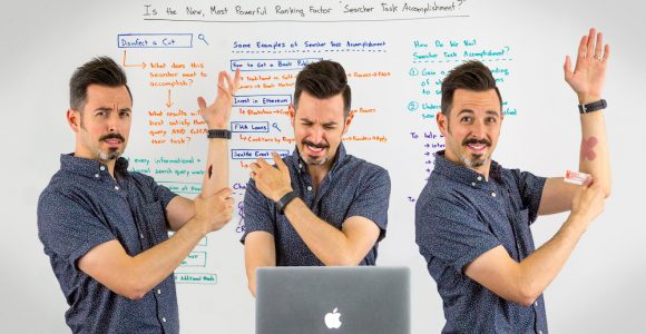 "Is the New, Most Powerful Ranking Factor ""Searcher Task Accomplishment?"" – Whiteboard Friday"