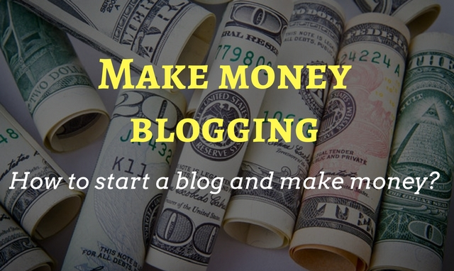 how to start a blog website and make money