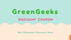 GreenGeeks Summer Sale 2017 – Get Hosting at 2.95/month