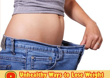 Fast Weight Loss Methods – 8 Unhealthy Ways to Lose Weight to Avoid