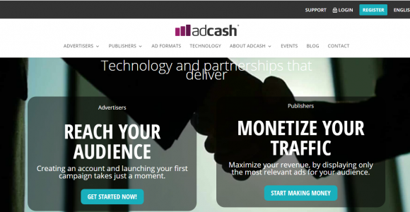Adcash Review: Monetize Your Blog with Best CPM Network