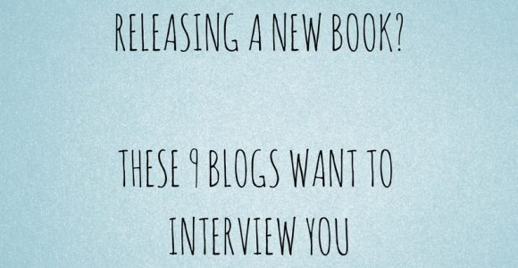 Releasing a new book? These 9 blogs want to interview you – Social Media Slant