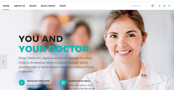 55+ Best Responsive Health and Medical WordPress Themes
