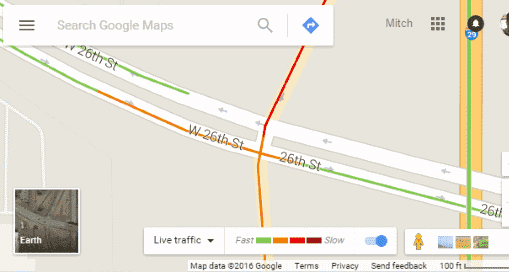Google Traffic : How to check traffic to work or home