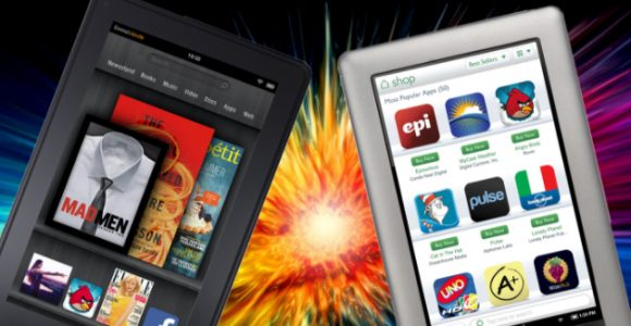 Kindle & Nook versions : Digital Device Trends (eBook Readers)