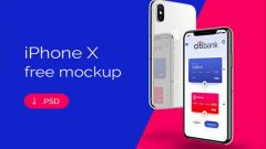 120+ Best Free iPhone X Mockup Templates Download