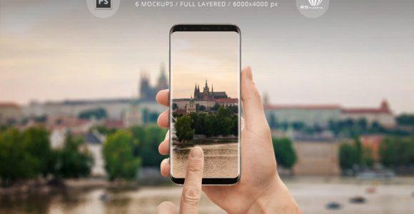 70+ Best Samsung Galaxy S8 Mockup Templates