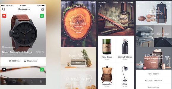 75 Best Free eCommerce UI Kits for Web Designers