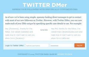TwitterDMer: Send Twitter Direct Messages (DM)