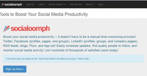 How to Send Twitter Direct Message (DM) Using Socialoomph