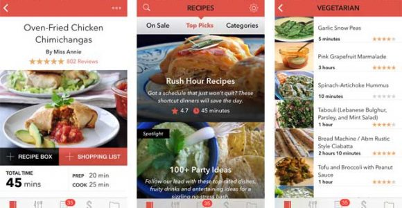 Best Cooking and Recipe Apps for iPhone and iPad