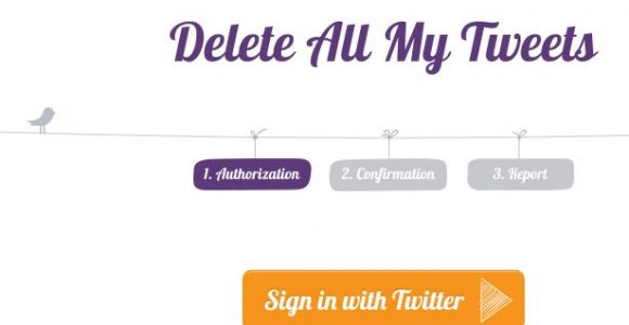 How To Delete all Tweets at Once with Free Twitter Tools