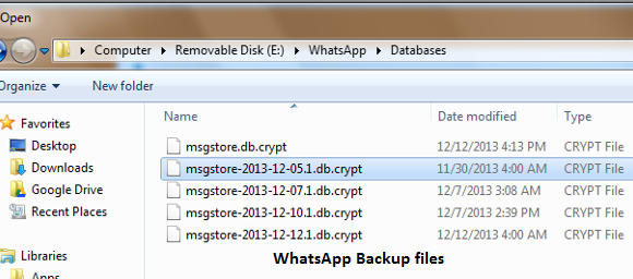 How to Recover/Restore Deleted WhatsApp Chat History
