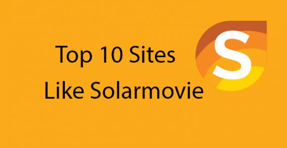 Top 5 Sites like Solarmovie