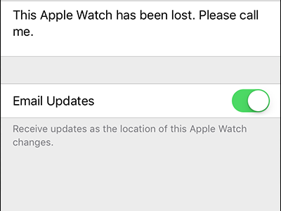 How to Find or Track Your Lost or Stolen Apple Watch