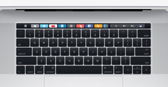 MacBook Touch Bar : Support with Google Chrome
