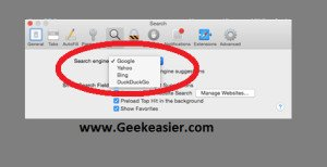 How to Change Default Search Engine in Safari for Mac OS X