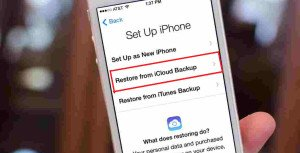 How to Restore an iPhone from iCloud Backup
