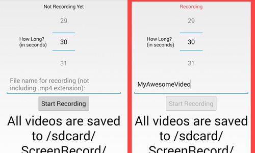 How To Record Android Device's Screen